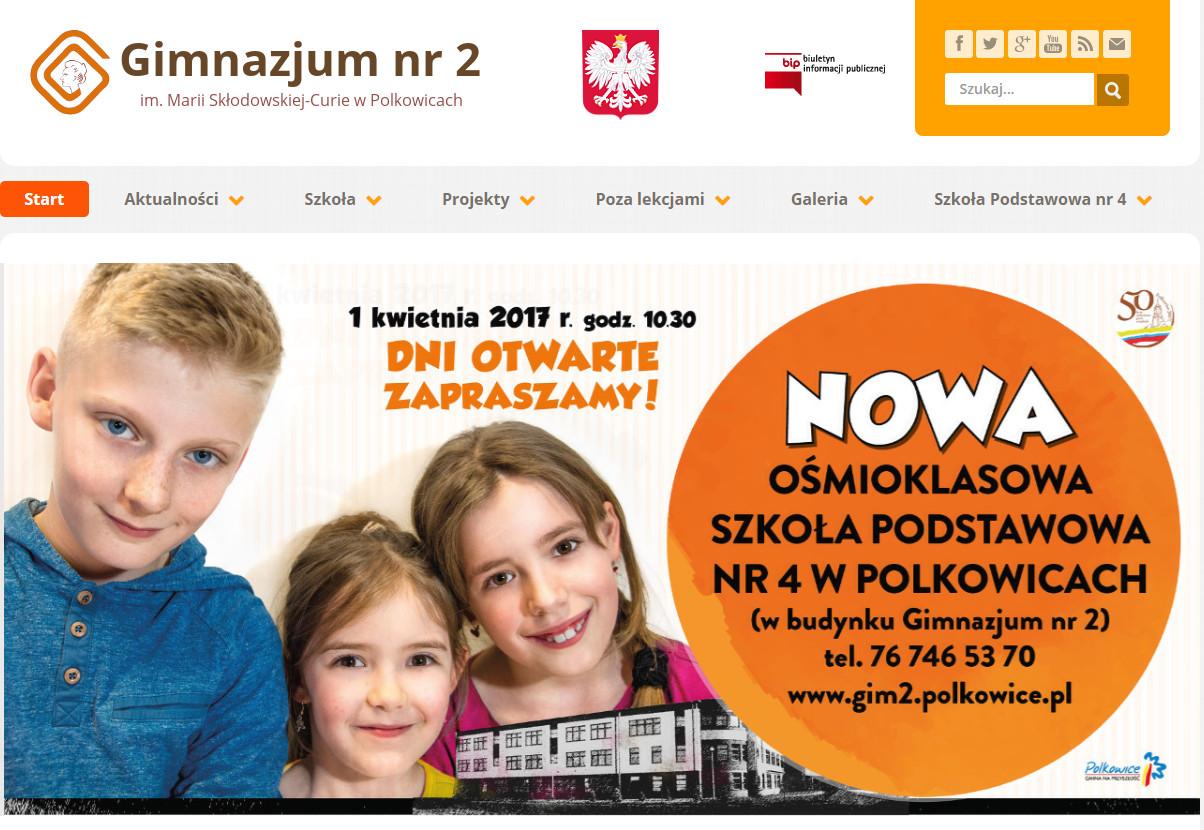 Gimnazjum nr 2 w Polkowicach