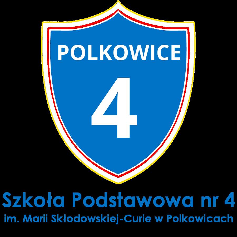 Logo Szkoły Podstawowej nr 4 w Polkowicach