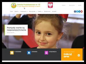 Wordpress - projekt strony szkolnej
